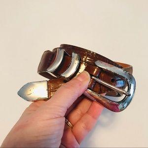 ONYX by BRIGHTON | leather belt | 40